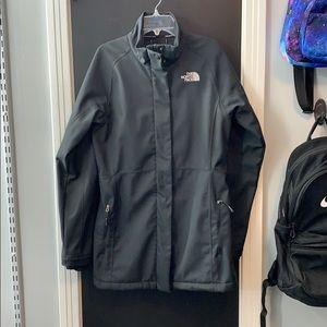 Women's m medium the north face apex jacket coat